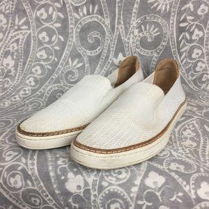 UGG Sammy Knit Slip-On Sneaker in White